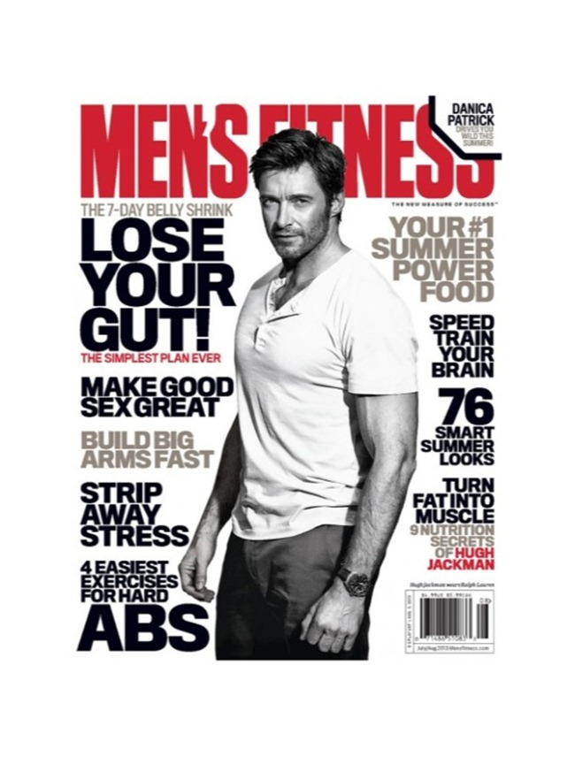 MEN'S FITNESS MAGAZINE Hugh Jackman in NO More Mr. Nice Guy by Ben Watts. August 2013, www.imageamplified.com, Image Amplified (1)