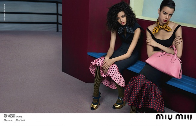 CAMPAIGN- Miu Miu Fall 2013 by Inez & Vinoodh. www.imageamplified.com, Image Amplified