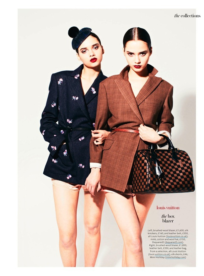 INSTYLE UK- The Bloom Twins in Show & Tell by Jonathan Hallam. Amanda Bellan, August 2013, www.imageamplified.com, Image Amplified (3)