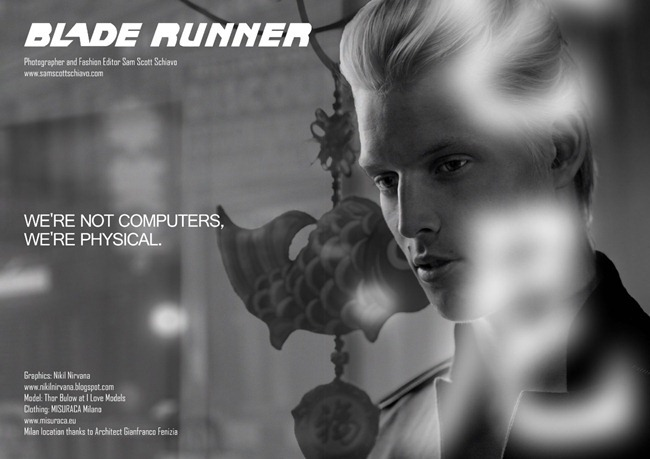 YEARBOOK FANZINE- Thor Bulow in Blade Runner by Sam Scott Schiavo, www.imageamplified.com, Image Amplified (3)