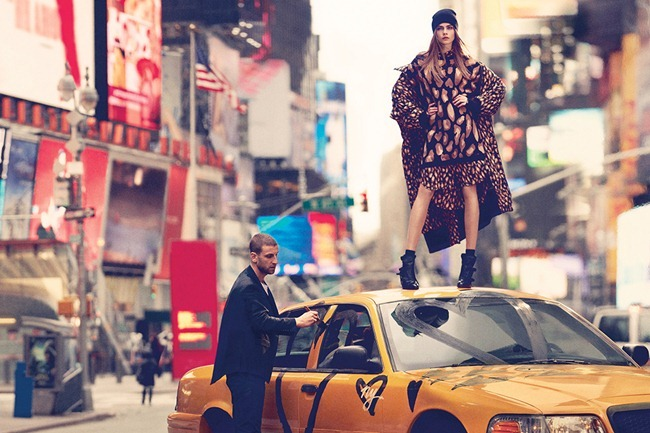 CAMPAIGN Cara Delevigne for DKNY Fall 2013. www.imageamplified.com, Image Amplified (5)