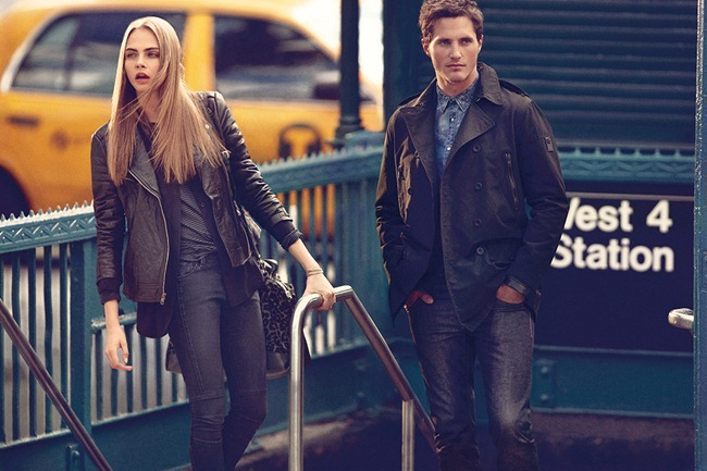 CAMPAIGN Cara Delevigne for DKNY Fall 2013. www.imageamplified.com, Image Amplified (10)