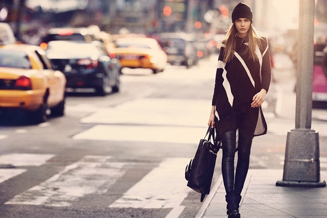 CAMPAIGN Cara Delevigne for DKNY Fall 2013. www.imageamplified.com, Image Amplified (11)