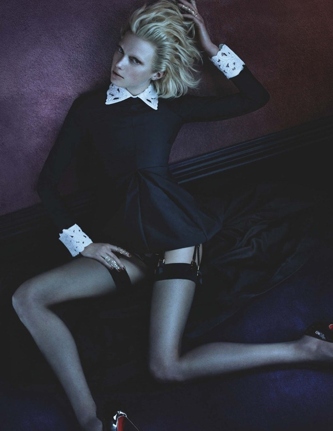 NUMERO MAGAZINE- Sigrid Agren in Libertine by Benjamin Lennox. Charles VArenne, August 2013, www.imageamplified.com, Image Amplified (6)