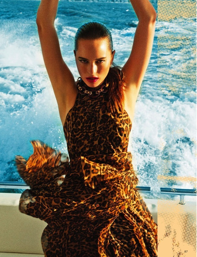 GRAZIA ITALIA Vanessa Hegelmaier in Stile Yacht by Roberto D'este. Alessia Aghemo, July 2013, www.imageamplified.com, Image Amplified (14)