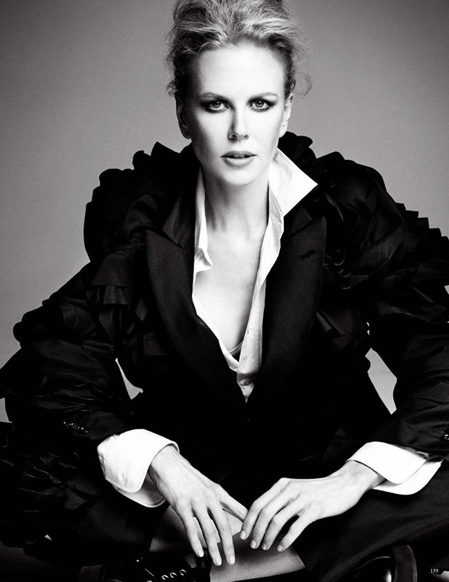 VOGUE GERMANY- Nicole Kidman in Don't Strike A Pose. Be You by Patrick Demarchelier. Christine Arp, August 2013, www.imageamplified.com, Image Amplified (1)