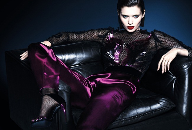 CAMPAIGN Abbey Lee Kershaw & Adrien Sahores for Gucci Fall 2013 by Mert & Marcus. www.imageamplified.com, Image Amplified (14)