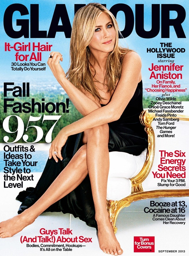 GLAMOUR MAGAZINE- Jennifer Aniston by Alexei Hay. September 2013, www.imageamplified.com, Image Amplified