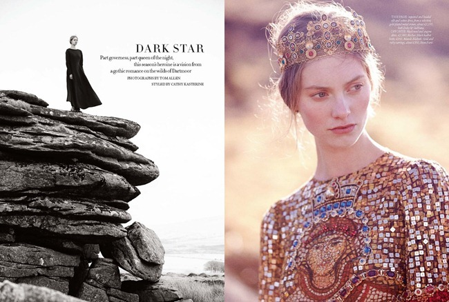 HARPER'S BAZAAR UK- Iris van Berne in Dark Star by Tom Allen. Cathy Kasterine, September 2013, www.imageamplified.com, Image Amplified