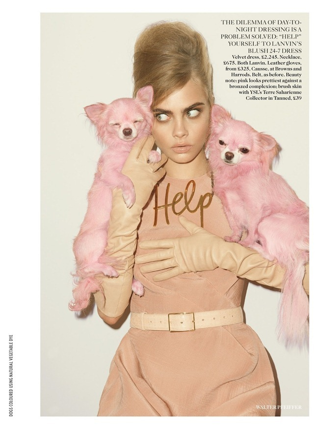 VOGUE UK- Cara Delevigne in Pink Lady by Walter Pfeiffer. Francesca Burns, September 2013, www.imageamplified.com, Image Amplified (7)