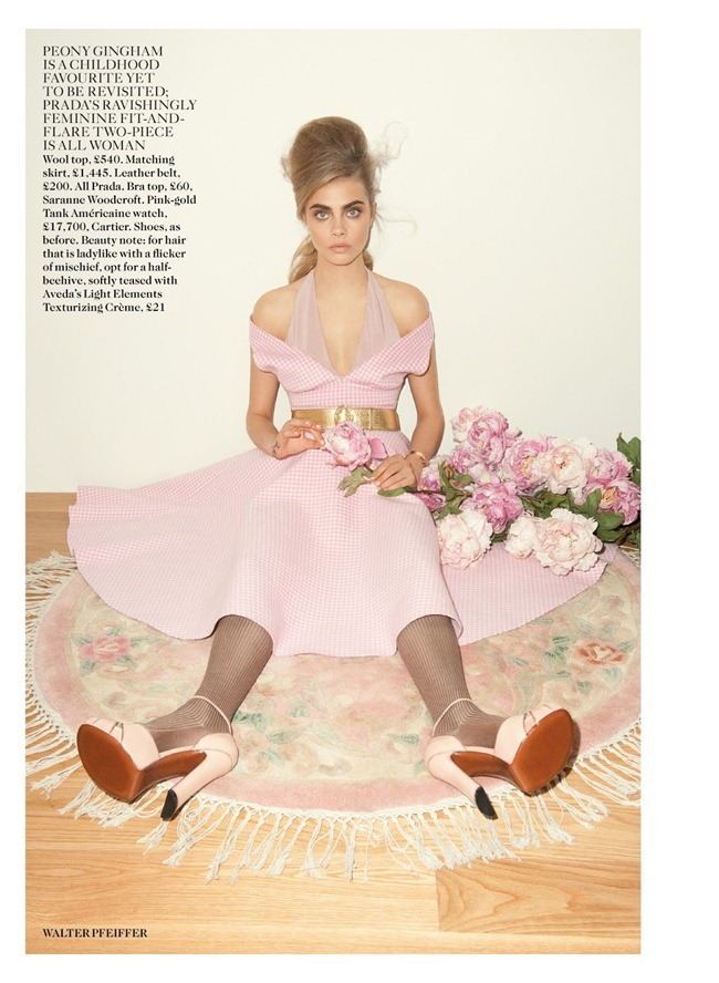 VOGUE UK- Cara Delevigne in Pink Lady by Walter Pfeiffer. Francesca Burns, September 2013, www.imageamplified.com, Image Amplified (4)
