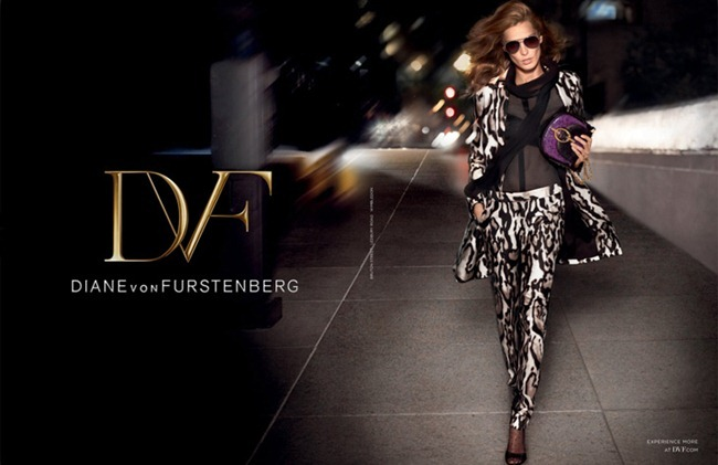 CAMPAIGN- Daria Werbowy for Diane von Furstenberg Fall 2013 by Sebastian Faena. Carine Roitfeld, www.imageamplified.com, Image Amplified (2)