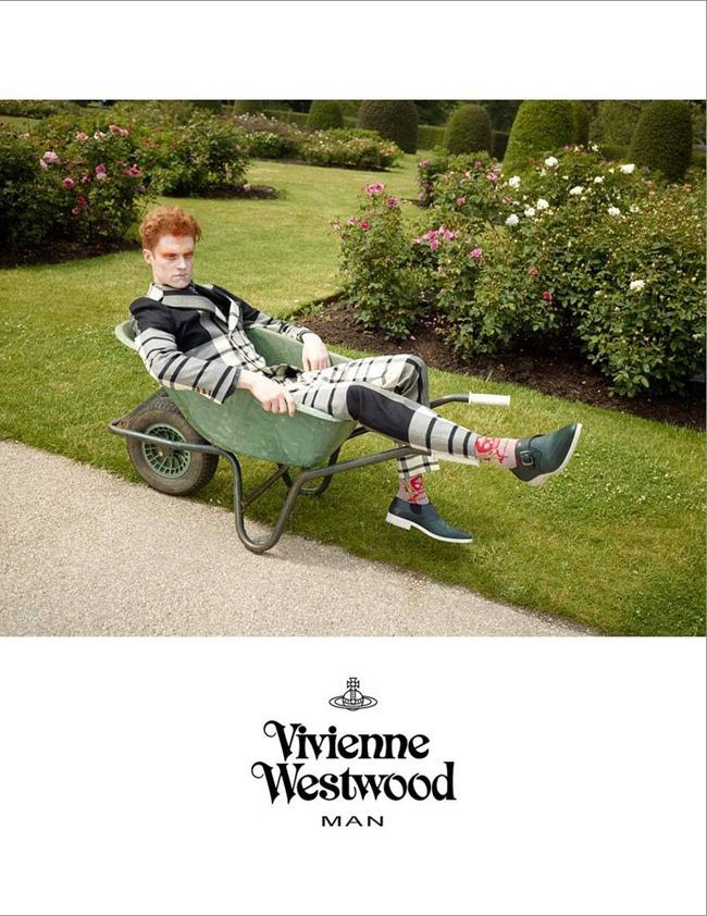 CAMPAIGN- Iekeliene Stange & Vivienne Westwood for Vivienne Westwood Fall 2013 by Jack Pierson. www.imageamplified.com, Image Amplified (1)