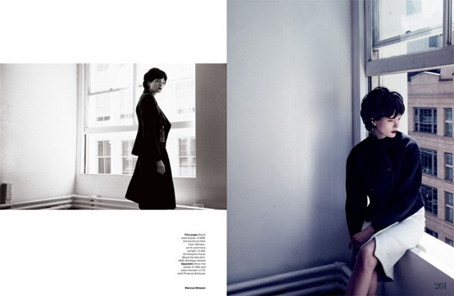 ELLE UK- Irina Kulikova in There She Goes by Marcus Ohlsson. September 2013, www.imageamplified.com, Image Amplified (2)