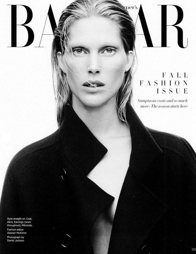 HARPER'S BAZAAR MAGAZINE- Iselin Steiro in What's Chic Now by Daniel Jackson. Alastair McKimm, September 2013, www.imageamplified.com, Image Amplified