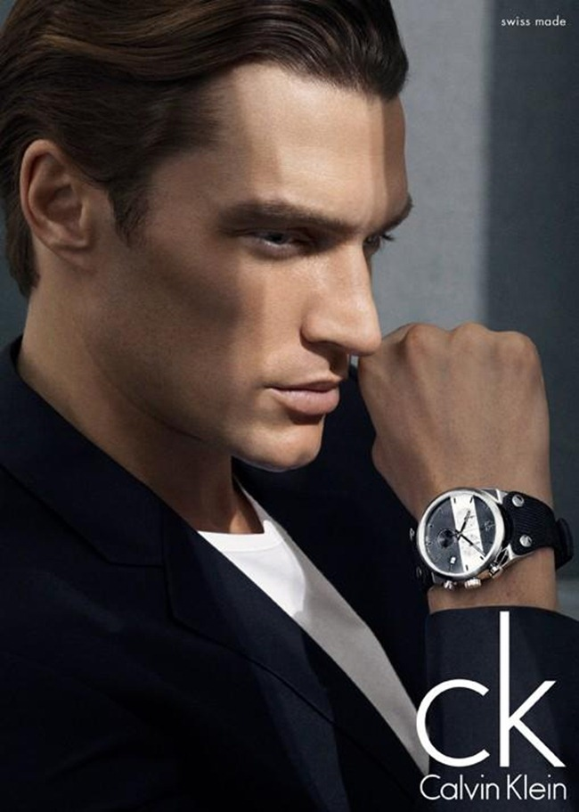 CAMPAIGN- Shaun DeWet for Calvin Klein Watches 2013 by Mikael Jansson. www.imageamplified.com, Image Amplified