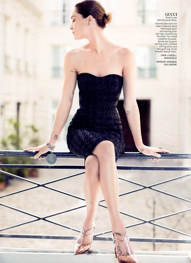 INSTYLE MAGAZINE- Erin Wasson in French Twist by Phil Poynter. Melissa Rubini, September 2013, www.imageamplified.com, Image Amplified (8)