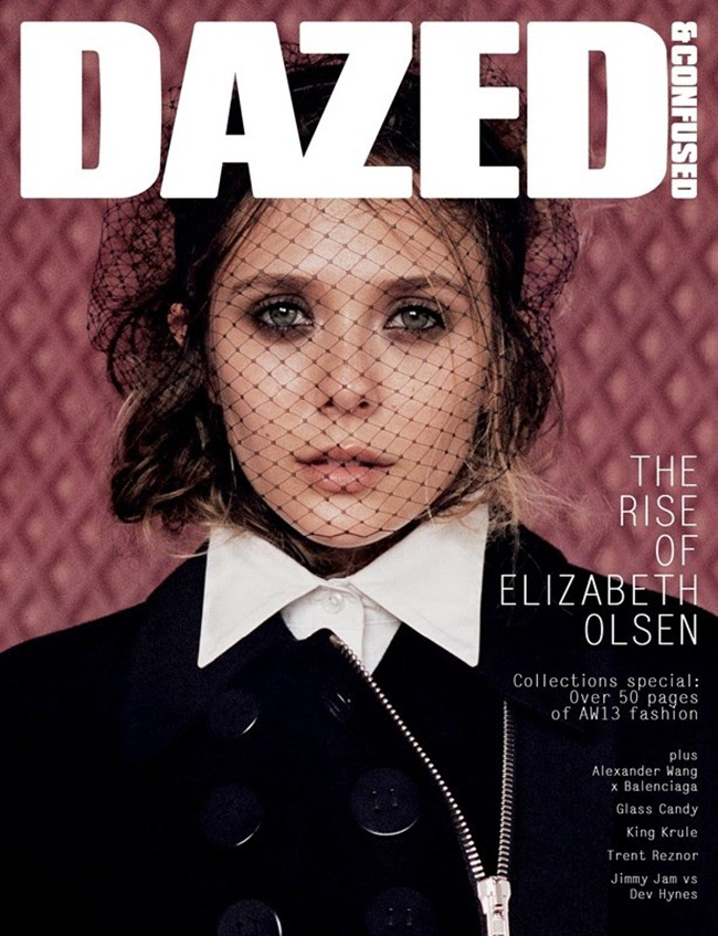 DAZED & CONFUSED MAGAZINE- Elizabeth Olsen in Sweet Valley Idol by Angelo Pennetta. Robbie Spencer, September 2013, www.imageamplified.com, Image Amplified