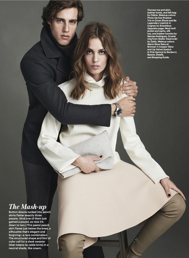 ALLURE MAGAZINE- Nadja Bender, Jordan Stenmark & Zac Stenmark in How To Be Stylish by Sebastian Kim. Siobhan Bonnouvrier, September 2013, www.imageamplified.com, Image Amplified (3)
