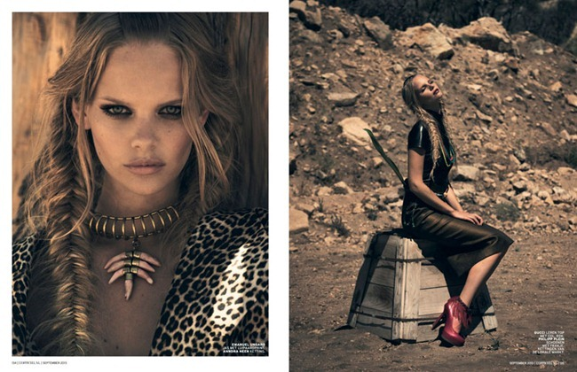 L'OFFICIEL NETHERLANDS- Marloes Horst in Wild Things by Mason Poole. September 2013, www.imageamplified.com, Image Amplified (2)