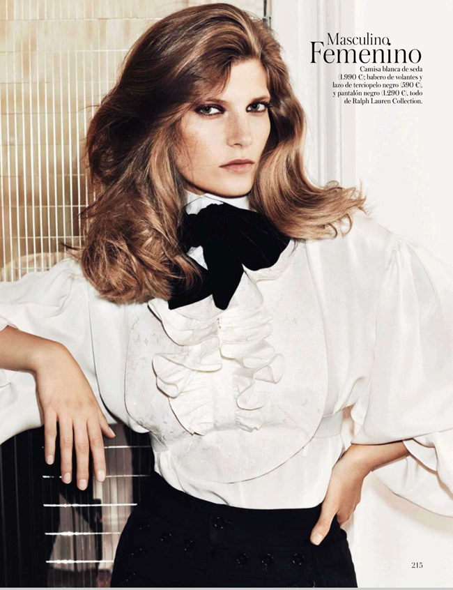 VOGUE SPAIN- Valerija Kelava in Nuevo Codigo by Hasse Nielsen. Claudia Englmann, September 2013, www.imageamplified.com, Image Amplified (10)