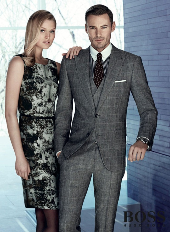 CAMPAIGN- Alex Lundqvist & Toni Garrn For Boss by Hugo Boss Fall 2013 by Arnaldo Anaya-Lucca, www.imageamplified.com, Image Amplified
