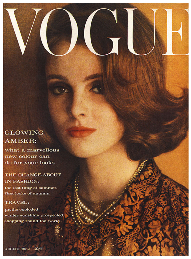 WE ♥ GRACE CODDINGTON- Grace Coddington for Vogue UK, August 1962. www.imageampilfied.com, Image Amplified