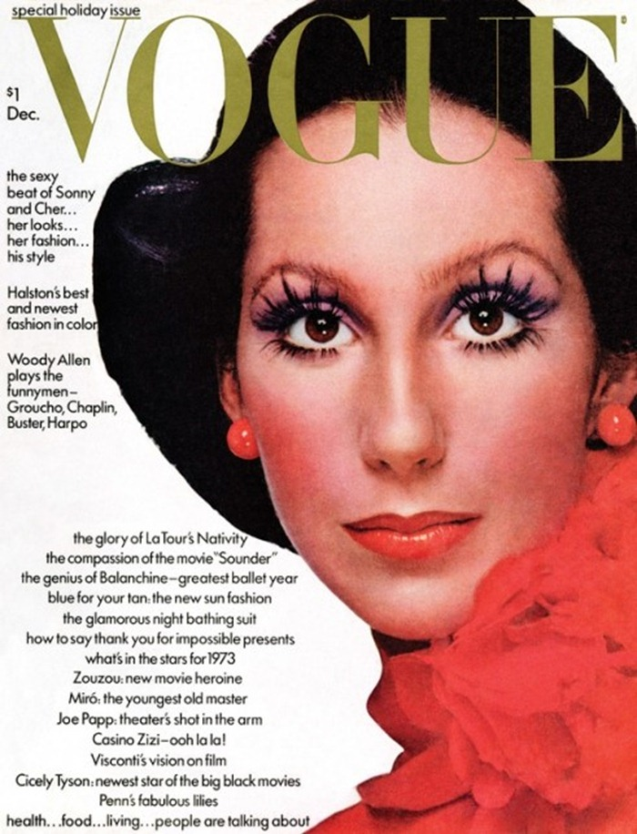 WE ♥ CHER- Cher for Vogue, December 1972 by Richard Avedon. www.imageampilfied.com, Image Amplified (1)