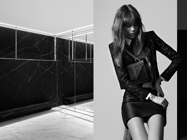 CAMPAIGN- Freja Beha Erichsen for Saint Laurent Pre-Fall 2013 by Hedi Slimane. www.imageamplified.com, Image Amplified (7)
