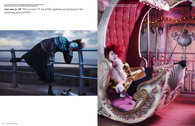 I-D MAGAZINE- Xiao Wen & Yue Ning in Be A Charmeleon.. by Solve Sundsbo. Charlotte Stockdale, Summer 2013, www.imageamplified.com, Image Amplified (6)