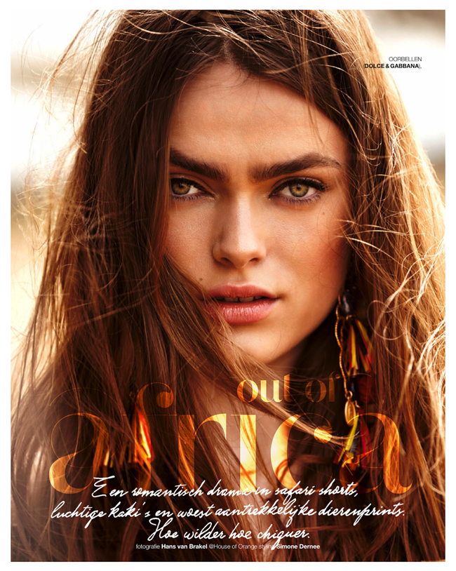 MARIE CLAIRE NETHERLANDS- Sophie Vlaming in Out of Africa by Hans van Brakel. Simone Dernee, June 2013, www.imageamplified.co, Image Amplified