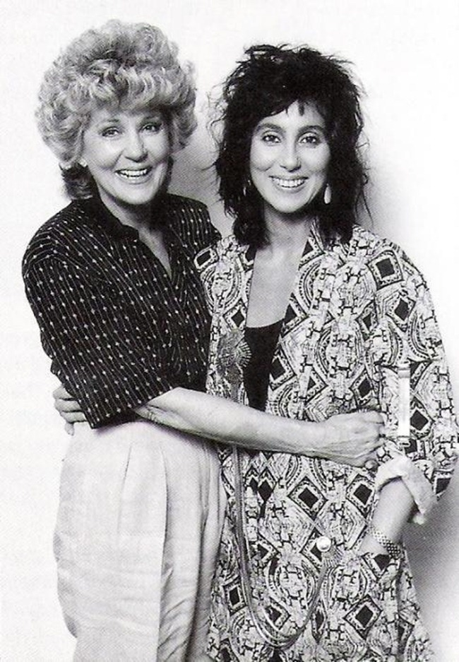 WE ♥ CHER- Cher & Georgia Holt in Mothers Day, 1986 by Ron Wolfson. www.imageampilfied.com, Image Amplified (2)