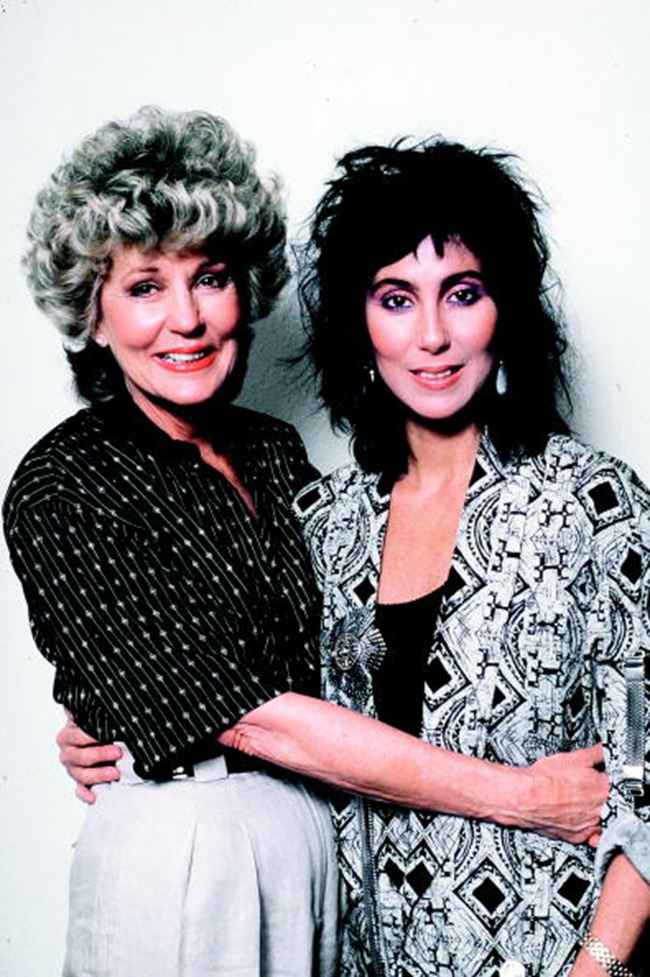 WE ♥ CHER- Cher & Georgia Holt in Mothers Day, 1986 by Ron Wolfson. www.imageampilfied.com, Image Amplified (1)