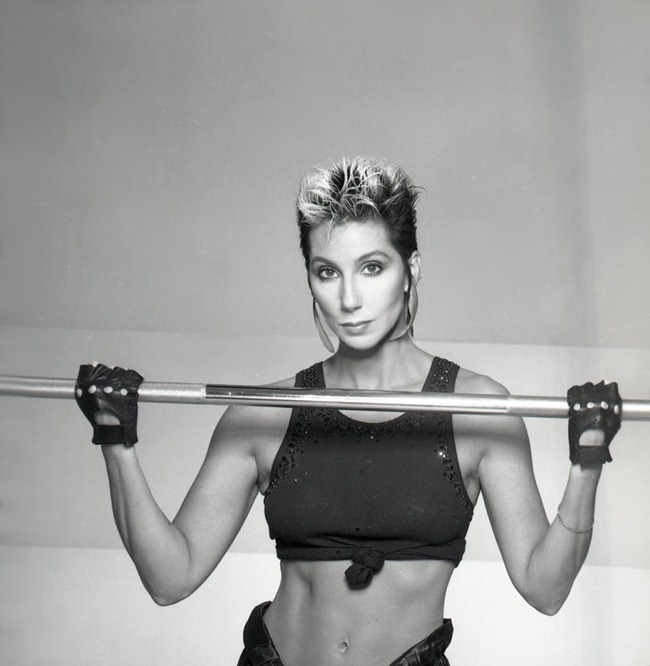 WE ♥ CHER- Cher for Jack Lalane Holiday Spa, 1985. www.imageampilfied.com, Image Amplified (8)