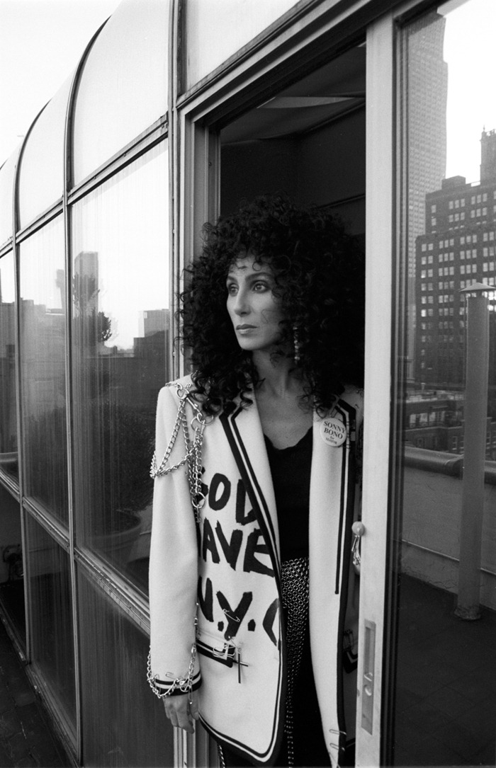 WE ♥ CHER- Cher for People Weekly, 1988 by Joe McNally. www.imageampilfied.com, Image Amplified