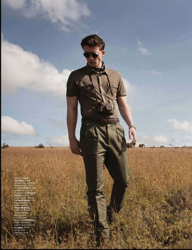 GQ UK- Samuel Tingman in Wild Style by Jo Levin. David Goldman, May 2013, www.imageamplified.com, Image Amplified