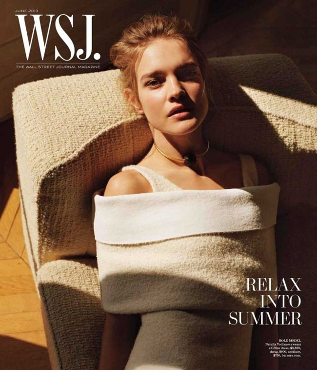 WSJ MAGAZINE- Natalia Vodianova in Super Woman by Alasdair McLellan. Anastasia Barbieri, June 2013, www.imageamplified.com, Image Amplified