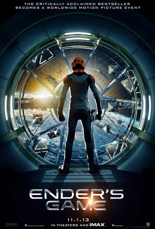CINEMA SCAPE: Enders Game by Gavin Hood. In Theaters November 1, 2013