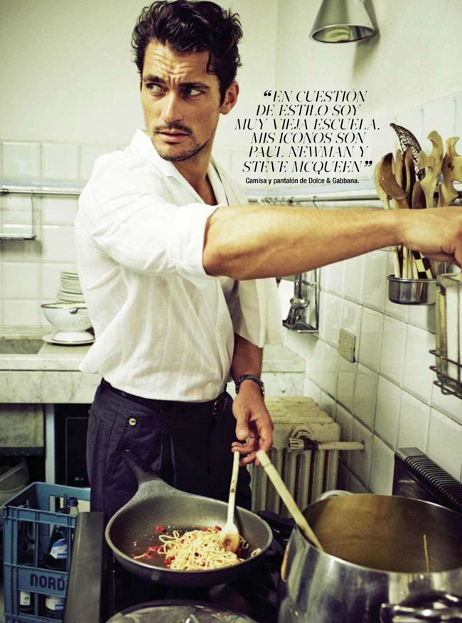 GLAMOUR SPAIN- David Gandy by Sergi Pons. June 2013, www.imageamplified.com, Image Amplified