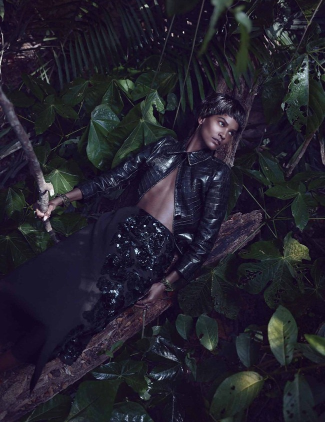 W MAGAZINE- Joan Smalls & Liya Kebede in Survival Of The Chicest by Mikael Jansson. Edward Enninful, July 2013, www.imageamplified.com, Image Amplified (8)