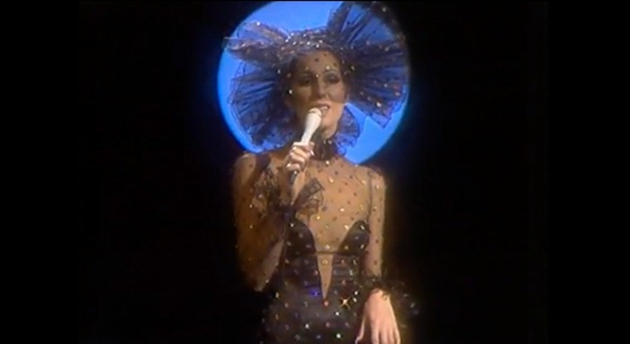 WE ♥ CHER- Cher in Dark Lady Music Video, 1973. www.imageampilfied.com, Image Amplified (1)