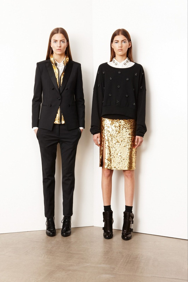 COLLECTION- Valery Kaufman & Emeline Ghesquiere for DKNY Resort 2014. www.imageamplified.com, Image Amplified   (3)
