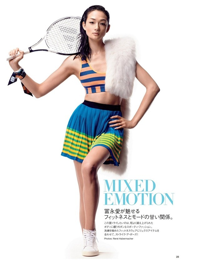 VOGUE JAPAN- Ai Tominaga in Mixed Emotion by Rene Habermacher. Emi Ogura, July 2013, www.imageamplified.com, Image Amplified