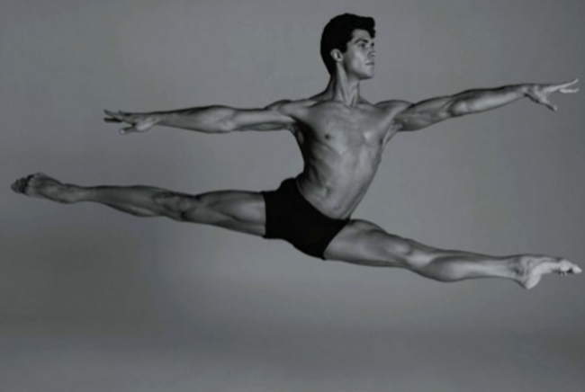 FEATURED MODEL- Roberto Bolle in An Athlete in Tights Pt 2, 2009 by Bruce Weber. www.imageamplified.com, Image Amplified (2)