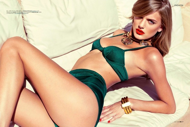 GQ UK- Bregje Heinen in Desert Storm by Stevie & Mada. Christopher Campbell, July 2013, www.imageamplified.com, Image Amplified (2)