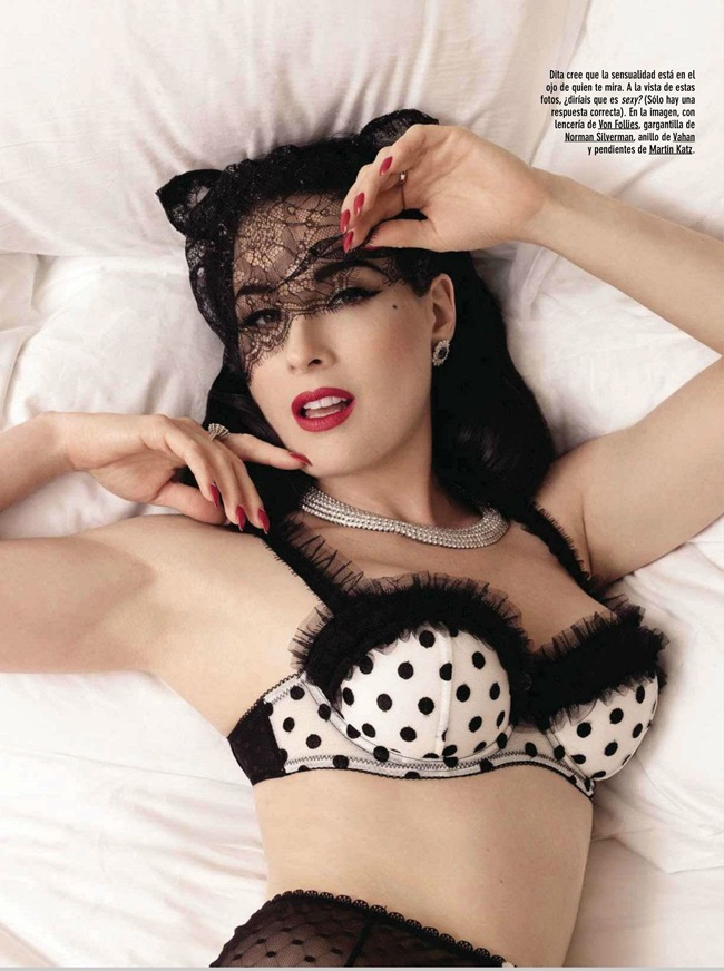 GQ SPAIN- Dita Von Teese by Albert Sanchez. June 2013, www.imageamplified.com, Image Amplified (4)