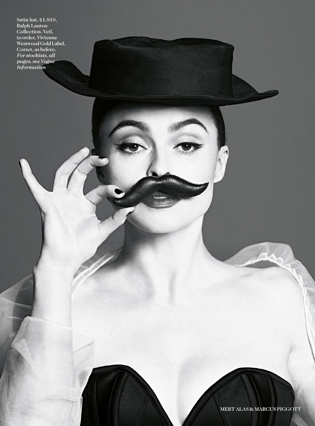 VOGUE UK- Helena Bonham Carter by Mert & Marcus, July 2013, www.imageamplified.com, Image Amplified (5)