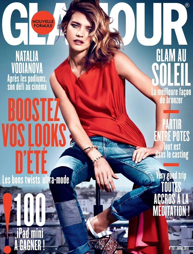 GLAMOUR FRANCE- Natalia Vodianova by Van Mossevelde   N. Donatella Musco, July 2013, www.imageamplified.com, Image Amplified
