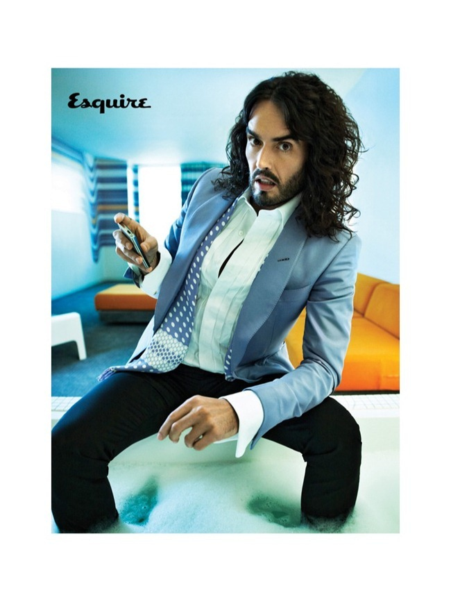 ESQUIRE UK Russell Brand by Peggy Sirota. July 2013, www.imageamplified.com, Image Amplified (2)