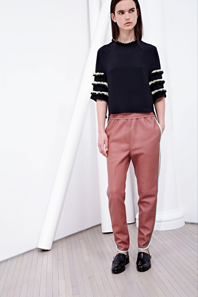 COLLECTION- Zoe Colivas & Joanna Tatarka for 3.1 Phillip Lim Resort 2014. www.imageamplified.com, Image Amplified (15)